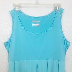 Columbia Dresses - Columbia PFG Freezer Blue Athletic Dress